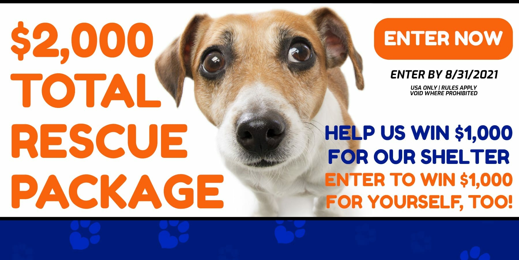 total animal adopt dog rescue shelter package